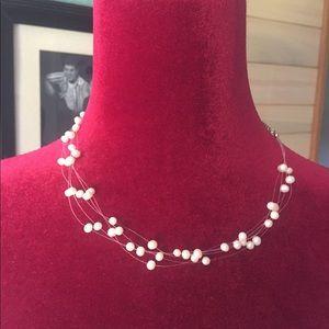 NWT Lia Sophia pearl necklace